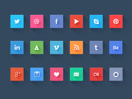 Social icons by NumarisLP