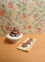 Nutella squares by Nassae