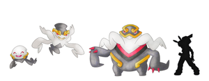 Phanthite, Poltehost and Feargeist by GregAndrade