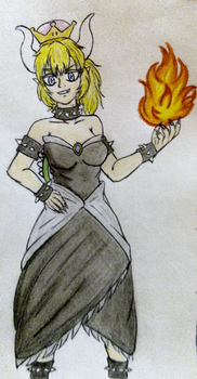 Bowsette by Trayers16