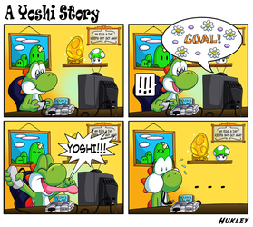 A Yoshi Story by Hukley