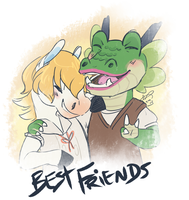 Besties Colton and Drago by CloverCoin