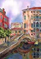 Venice. After rain (final version) by MilaKat