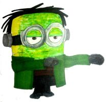 Franken-Minion by InkArtWriter