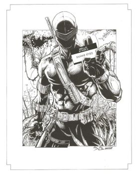 Snake Eyes by SquirrelShaver