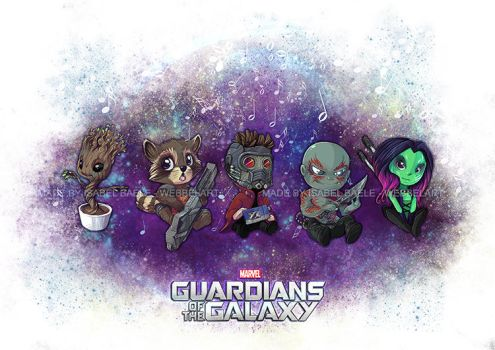 Guardians of the Galaxy by tikopets