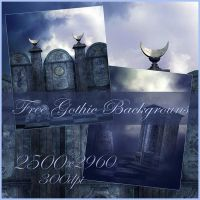 Free Gothic backgrounds by moonchild-ljilja