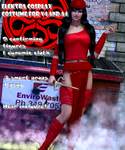 Elektra cosplay costume for V4 and A4 by Terrymcg