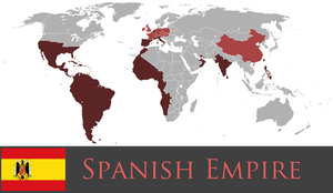 Greater Spanish Empire by PrussianInk