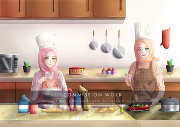Commission ~ Bakery by yumekachan20