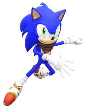 New Sonic boom Render by Nibroc-Rock