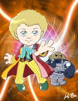 6th Doctor Who Colin Baker by kevinbolk