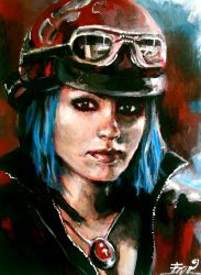-Blue Haired and Brutal- by Sara-lj