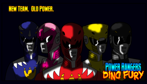 Power Rangers: Dino Fury Ad by TheBackPageComics