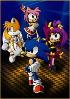 Sonic Adventures: The Heroes by DarkNoise-Studios