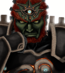 Ganondorf Dragmire with an ancient armor set by gaaraxel-13