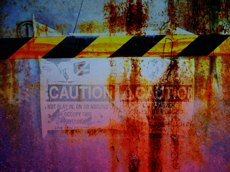 Caution Texture by oscarrocks00