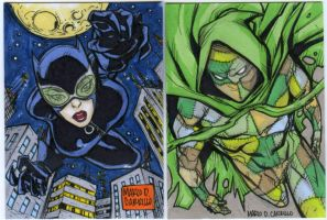 2 sketch card commission by mdavidct