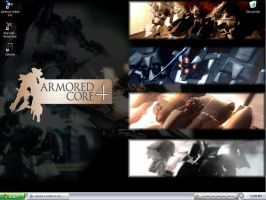 Armored Core 4 - Wallpaper by F-W-Bourdillon