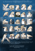 25 Essential Expressions Challenge- Syv AP sheet by Blue-Lizard