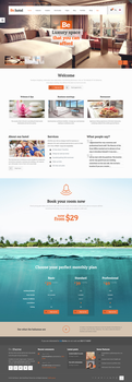 BeHotel WordPress Theme by webdesigngeek