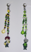 Naruto Beaded Fobs 2 by jordannamorgan