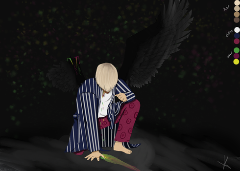 BTS Wings Taehyung by KatHDFilmsx