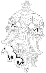 Terror from the ID-Outlines by thepixelsmith