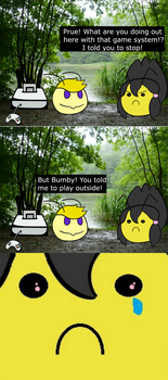 DZComics: Instructions Unclear by Darkzoned