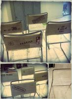 DIY - Dining Chairs Redo by LuthienThye