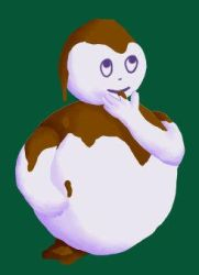 Chocolate Snowman by edhelbeleth