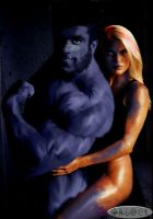 Beast and Mystique by Orlock