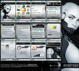 Android v1 animated K810 by rjdsouza