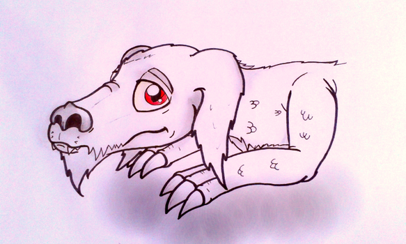 Falkor the luck dragon by GluryTheUnown