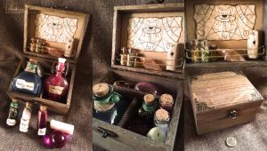 Potions and poisons chest No.3 by NimphradorasOddities
