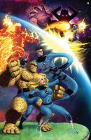 Fantastic Four by Dan-the-artguy