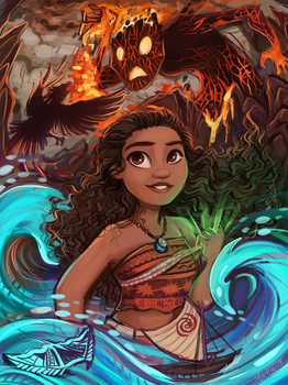 Moana by sharkie19