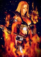 Born of Flame and Steel by CKImagery