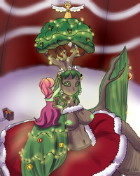Decorating The Tree by Gokai-Chibi
