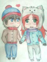 .:Commission:.South Park: Stan x Samantha by Spirit-Okami