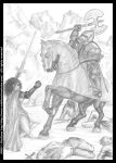 A very cold battle: pencil version from Book I by middaschronicles