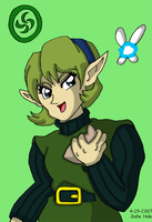 Saria the Forest Sage by JwalsShop