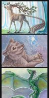 Aceo Cards by Penny-Dragon