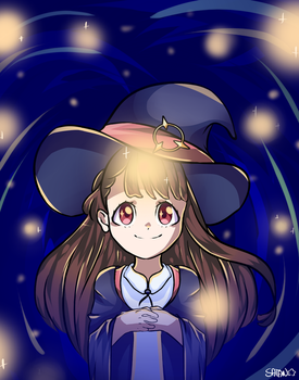 Akko Kagari by StableEmotion