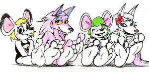 Mices, Wolves and Soles by RalfTheRalfMan