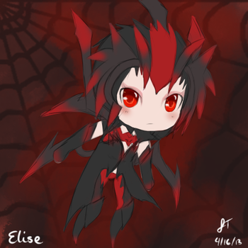 League of Legends: Elise the Spider Queen by TheMuteMagician