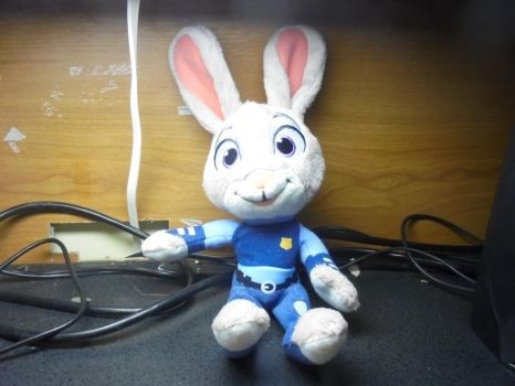 Finally Have the Right Judy Hopps Plush by Eli-J-Brony