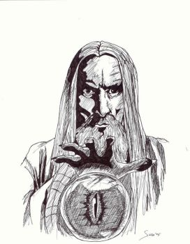 Saruman the White by Noloter