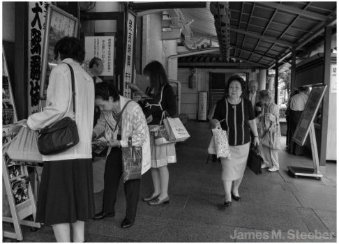 Tokyo Theater Goers 2008 by steeber