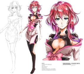 XFIA-Original Character Design by GBSartworks